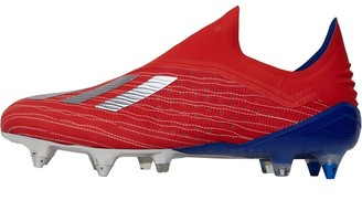 adidas Mens X 18+ SG Soft Ground Football Boots Active Red/Silver Metallic/Bold Blue