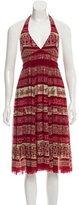 Jean Paul Gaultier Halter Midi Dress