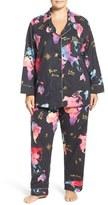 BedHead Plus Size Women's Print Flannel Pajamas