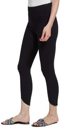 Lysse Medium Control Lynette Scallop Denim Leggings