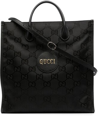 Gucci Pre-Owned Logo-Patch Tote Bag