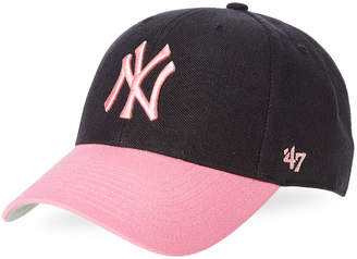 '47 Navy & Pink New York Yankees Baseball Cap