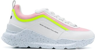 MSGM chunky sole trainers