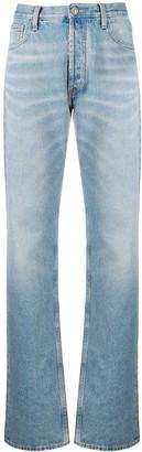ATTICO Stonewashed Boyfriend Fit Jeans