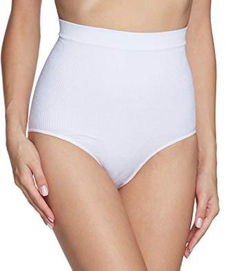 Belly Cloud bellycloud Women's Taillenslip Allover Big Paisley Control Knickers,44 (Herstellergröße: XL)