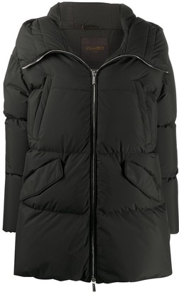Moorer Stop quilted coat