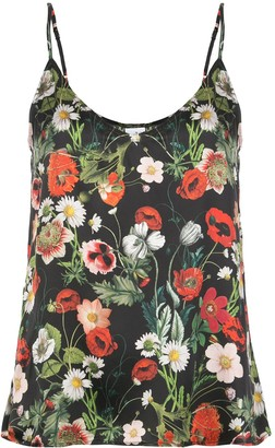 Madison.Maison Lori floral-print silk top