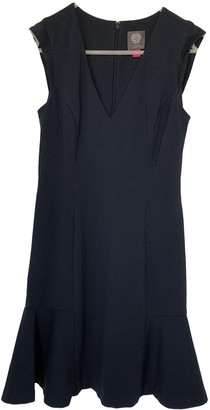 Vince Camuto Navy Cotton - elasthane Dress for Women