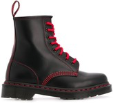 Dr. Martens contrast-stitch work boots