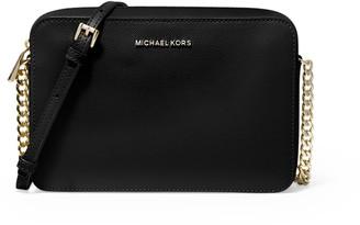 MICHAEL Michael Kors Jet Set Large Saffiano Leather Crossbody Bag