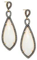 Chan Luu Moonstone Drop Earrings