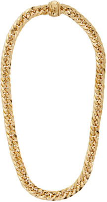 Emanuele Bicocchi SSENSE Exclusive Gold Herringbone Chain Necklace