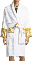 Thumbnail for your product : Versace Men's Barocco Sleeve Robe