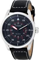 Citizen Men's AW1361-01E Sport Analog Display Japanese Quartz Black Watch