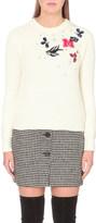 Maje Makup cotton-blend jumper