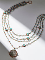 Free People San Benito Opal Medallion Necklace