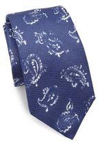 Isaia Abstract Paisley Tie