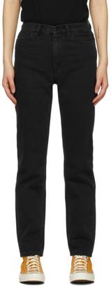 Carhartt Work In Progress Black Mita Jeans
