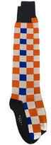 Marni check print socks - women - Cotton/Polyamide - XS