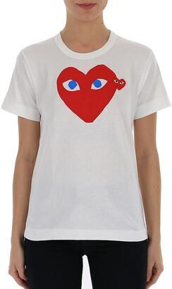 Comme des Garcons Hearts T-Shirt