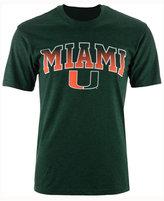 Colosseum Men's Miami Hurricanes Gradient Arch T-Shirt