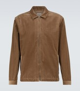 Thumbnail for your product : Sunspel Cotton corduroy Harrington jacket