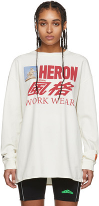 Heron Preston Off-White Horse Long Sleeve T-shirt