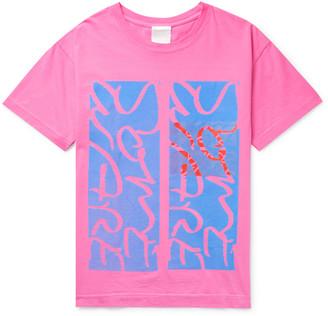 Some Ware Logo-Print Organic Cotton-Jersey T-Shirt