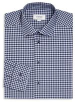 Eton Gingham Plaid Button-Up