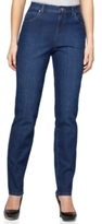 Style&Co. Style & Co Style & Co Petite Tummy-Control Straight-Leg Jeans, Created for Macy's