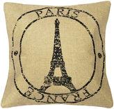 Asstd National Brand 18 Paris Stamp Decorative Pillow