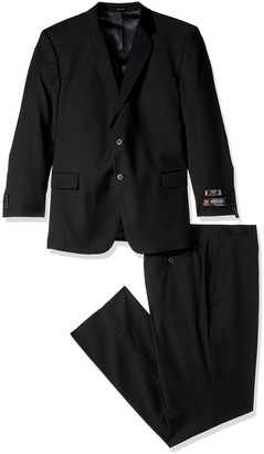 Couture Lazetti Men's Portly Wool Suit