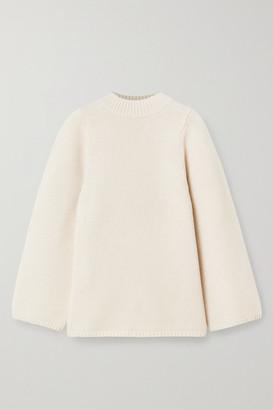 Totême Pomy Merino Wool Sweater - Cream