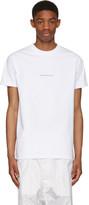 Hood by Air White '2007' T-Shirt