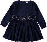 LOUIS LOUISE Crepe Cotton Romane Dress