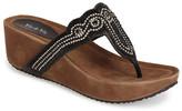 Rebels Josie Platform Thong Sandal