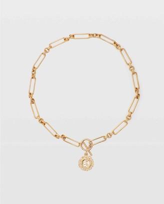 Club Monaco Serefina Short Link Necklace