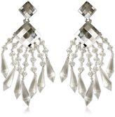 Balmain Crystal Drop Earrings