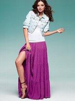 Gauze Maxi Skirt