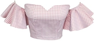 Ciao Bella Pink Gingham Top