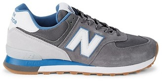 New Balance Suede, Leather Mesh Sneakers