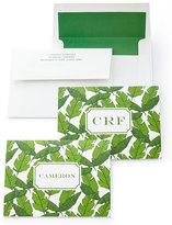 Banana Leaf Folded Notes with Personalized Envelopes