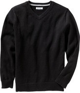 Old Navy Boys Uniform V-Neck Sweaters