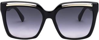 Moschino Square Frame Oversize Sunglasses