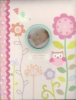 Baby's First Memory Book Look Whoo's Adorable Pink W/flowers, Owls, & Bird by C.R. Gibson