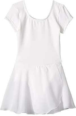 Bloch Cap Sleeve Skirted Leotard (Toddler/Little Kids/Big Kids)