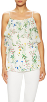 Marissa Webb Fiona Silk Floral Print Top