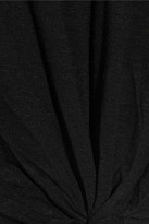 LnA Lasso slub-jersey T-shirt
