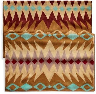Ralph Lauren Southwestern Wool-Silk Scarf