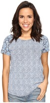 Lucky Brand Floral Mixed Tee